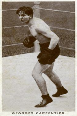 Georges Carpentier, French Boxer