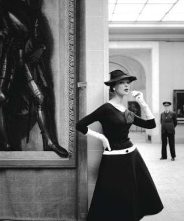 Ivy At The Orangerie Museum, 1954