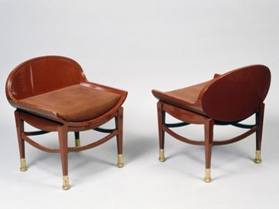 Art Deco Style Chairs by Georges de Feure