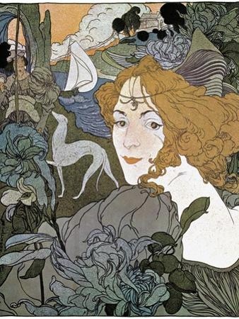 Diana, 1897 by Georges de Feure