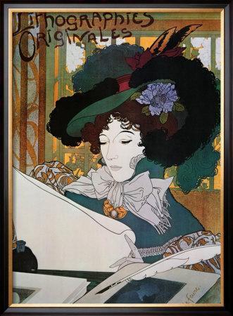Lithographies Originales by Georges de Feure