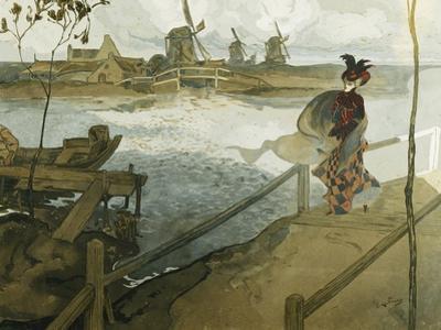 The Gale; Le Coup De Vent by Georges de Feure