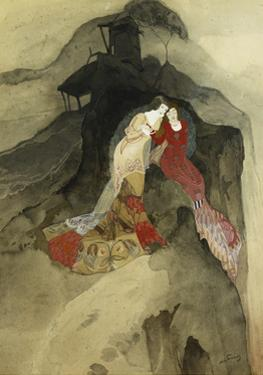 The Researchers of the Infinite; Les Chercheuses D'Infini by Georges de Feure