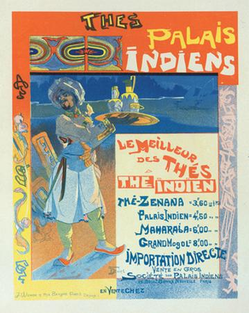 Thes Palais Indiens by Georges De Feure
