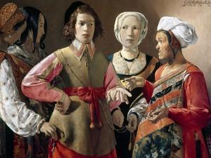 La Tour: Fortune Teller by Georges de La Tour