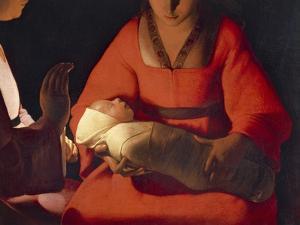 Newborn, 1645-1648 by Georges de La Tour