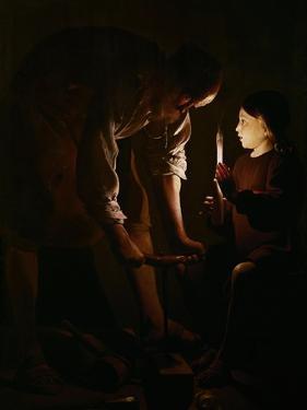 Saint Joseph the Carpenter, 1642 by Georges de La Tour