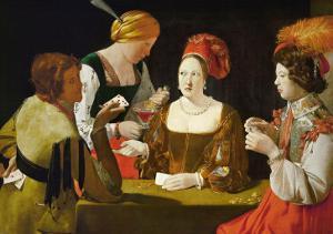 The Cheat by Georges de La Tour