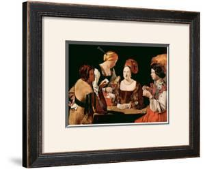 The Cheater Card Game by Georges de La Tour