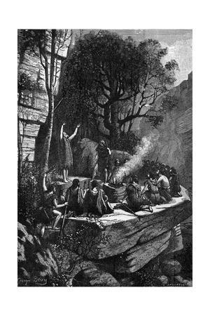 Prehistoric Cave Burial