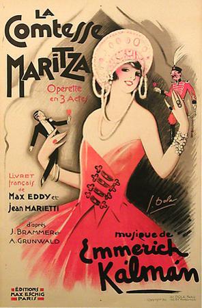 La Comtesse Maritza (c.1930)