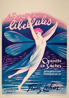La Danse des Libellules (c.1926) by Georges Dola