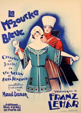 La Mazourka Bleue (c.1930) by Georges Dola