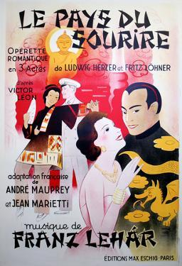 Le Pays du Sourire (c.1929) by Georges Dola