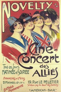 Novelty - Cine Concert Des Allies by Georges Dola