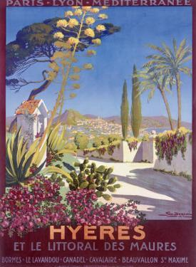 Hyeres, French Riviera by Georges Dorival