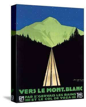 Vers Le Mont Blanc by Georges Dorival