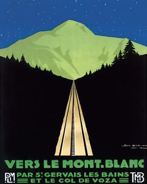 Vers Le Mont Blanc by Georges Dorival