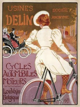 Delin Cycles Automobiles Moteurs, 1898 by Georges Gaudy