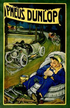 Pneus Dunlop by Georges Gaudy