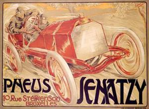 Pneus Jenatzy by Georges Gaudy