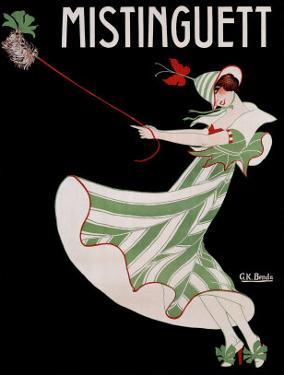 Mistinguett by Georges Kugelmann Benda
