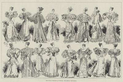 The Royal Wedding at Coburg, the Bridal Trousseau
