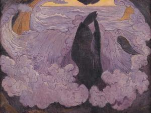 The Violet Wave, circa 1895-6 by Georges Lacombe