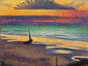 Beach at Heist by Georges Lemmen