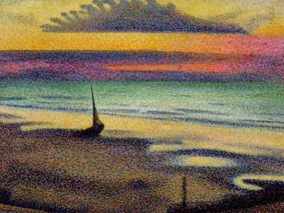 The Beach at Heist, 1891-92 by Georges Lemmen
