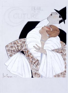 Bal de la Couture Maquette by Georges Lepape