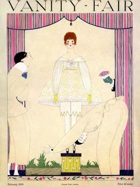 Vanity Fair Cover - February 1919 by Georges Lepape