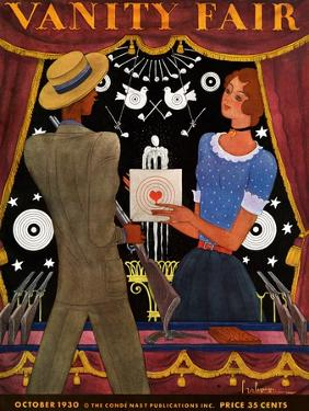 Vanity Fair Cover - October 1930 by Georges Lepape