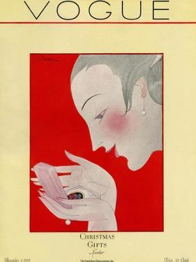 Vogue Cover - December 1923 by Georges Lepape