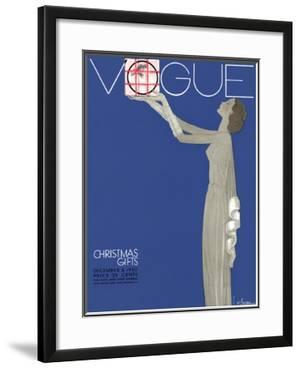 Vogue Cover - December 1930 by Georges Lepape