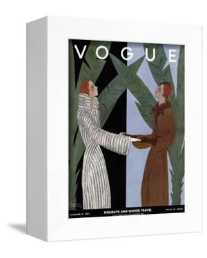 Vogue Cover - December 1931 by Georges Lepape
