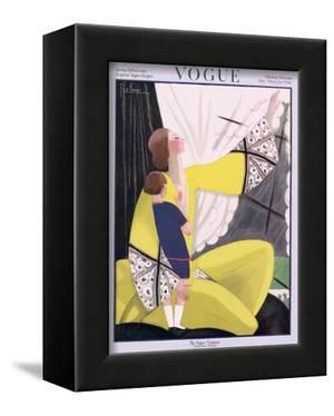 Vogue Cover - February 1922 by Georges Lepape