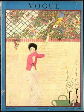 Vogue Cover - July 1918 by Georges Lepape