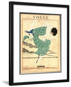 Vogue Cover - June 1918 by Georges Lepape