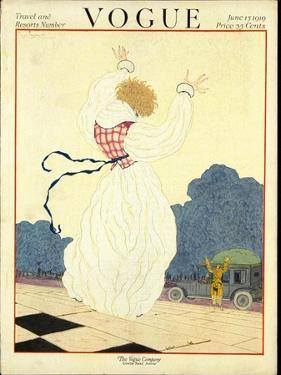 Vogue Cover - June 1919 by Georges Lepape