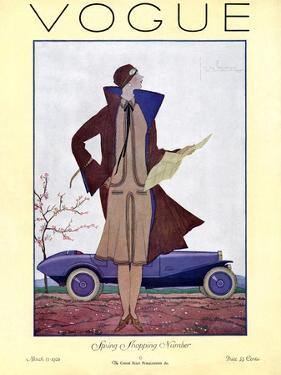 Vogue Cover - March 1926 by Georges Lepape