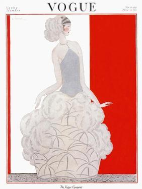 Vogue Cover - November 1922 by Georges Lepape