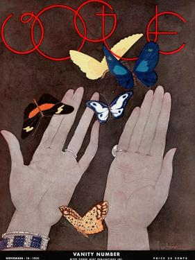 Vogue Cover - November 1931 by Georges Lepape