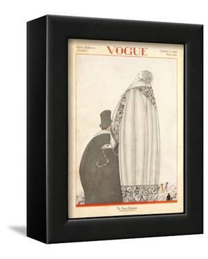 Vogue Cover - October 1920 by Georges Lepape