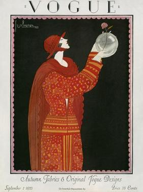Vogue Cover - September 1923 by Georges Lepape