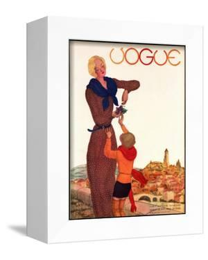 Vogue Cover - September 1931 by Georges Lepape
