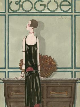 Vogue - February 1925 by Georges Lepape