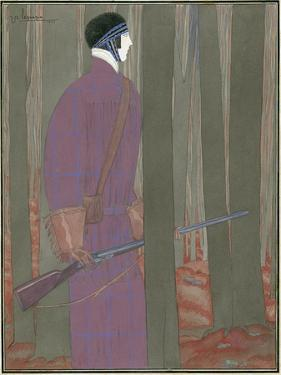Vogue - January 1923 by Georges Lepape