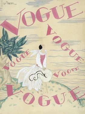 Vogue - June 1924 by Georges Lepape