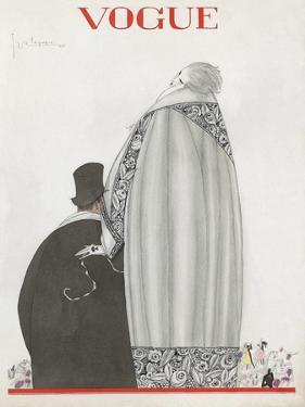 Vogue - October 1920 by Georges Lepape